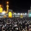 مراسم احیای شب نوزدهم ماه رمضان در حرم مطهر امام رضا(ع) و شاهچراغ