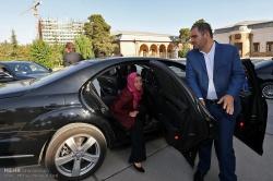 دیدار مسئول سیاست خارجه اتحادیه اروپا با رئیس مجلس شورای اسلامی
