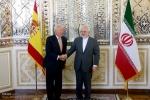 دیدار و کنفرانس خبری وزرای امور خارجه ایران و اسپانیا