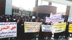 مربیان پیش دبستانی خوزستان : اعتراضات خود را  ادامه مي دهيم