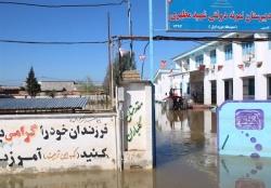 مدیرکل نوسازی مدارس خوزستان : تعمیر مدارس سیلزده  تا 20 شهریور به اتمام میرسد