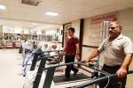 رئيس بیمارستان گلستان اهواز  بخش بازتوانی بیماران  سکته حاد مغزی راهاندازی شد